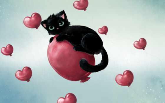 мяч, air, love, сердце, black, аватар, vkontakt, котенок, тюлень, тематика