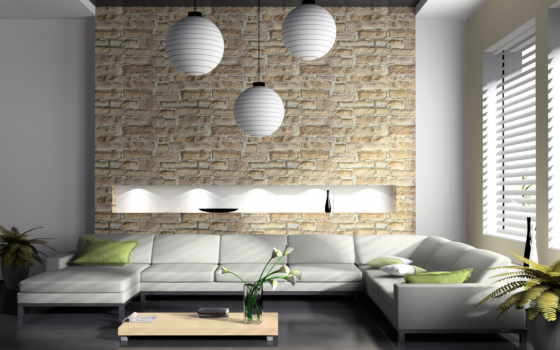 квартиры, камен, interer