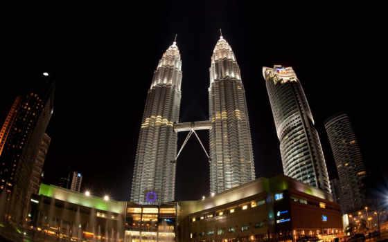 petronas, башни, lumpur, kuala, towers, malaysia, twin,