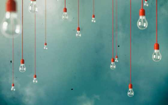 свет, blue, фон, картинка, bulbs, лампа, many, фотообои,
