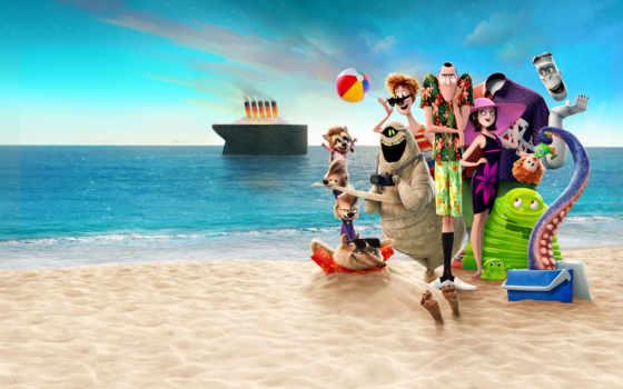 transylvania, hotel, vacation, summer, плакат, монстры, каникулах, cartoon,