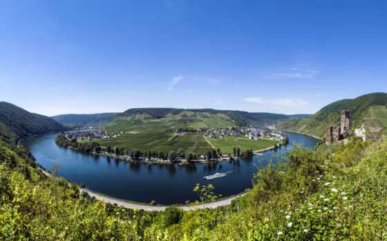 мозель, река, reki, luxembourg, noname, фотографий,