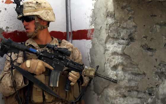 marine, unite, снайпер, state, corps, high, оружие, солдат
