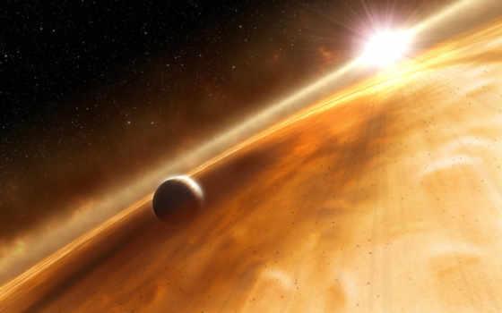 планета, звезда Фон № 24726 разрешение 2560x1600