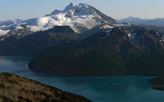 природа, красивая, горы