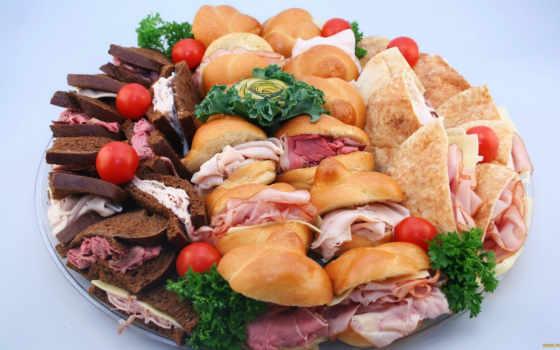 фастфуд, еда, бутерброды