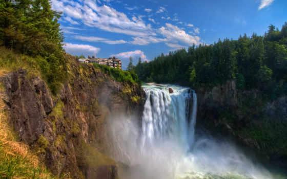 break, водопад, фотографий, house, рисунки,