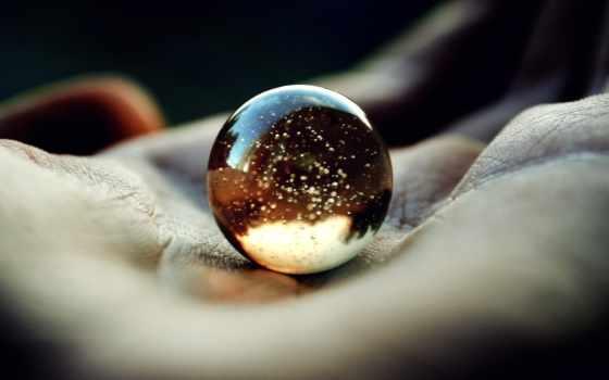 мяч, glass, ладони, palm,