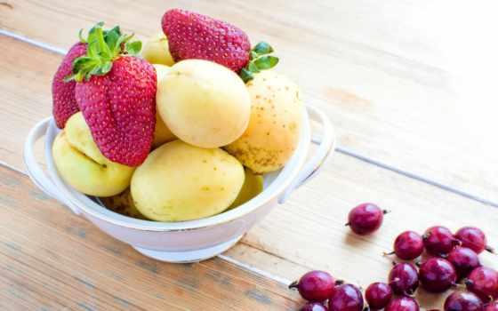 еда, широкоэкранные, ягода, фрукты, широкоформатные, табличка, абрикос, клубника, полноэкранные, widescreen,