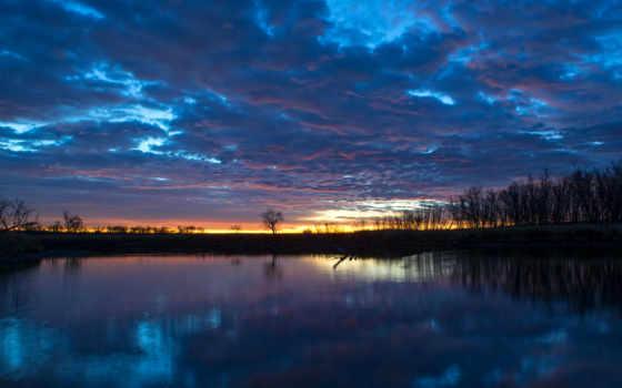 утро, рассвет, лес, река, trees, туман, природа, отражение, озеро, штрих