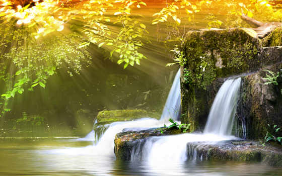 naturaleza, river Фон № 17371 разрешение 2352x1500