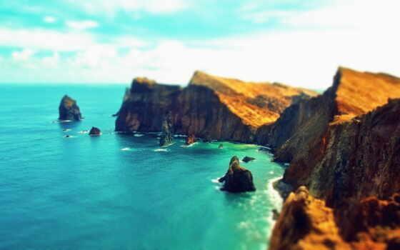 скалы, природа