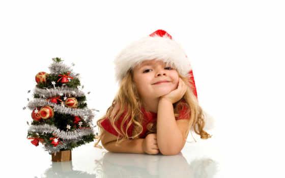 год, new, дек, праздник, ребенка, ребенок, детьми,