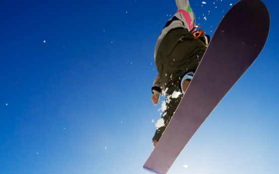 спорт, прыжок, сноуборд, картинка, небо, экстрим, парень, адреналин, зима, картинку, сноуборде,
