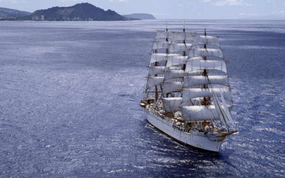 корабли, парусные,