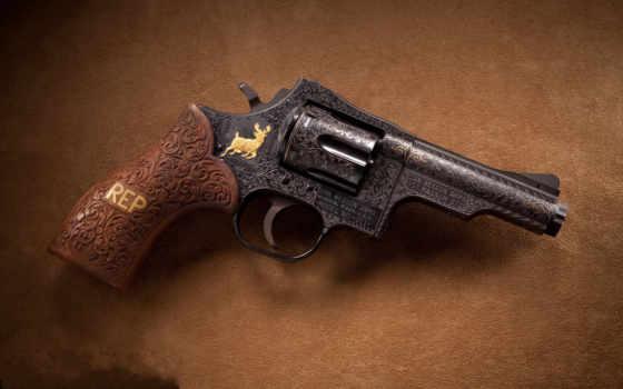 revolver, oruzhie, wesson