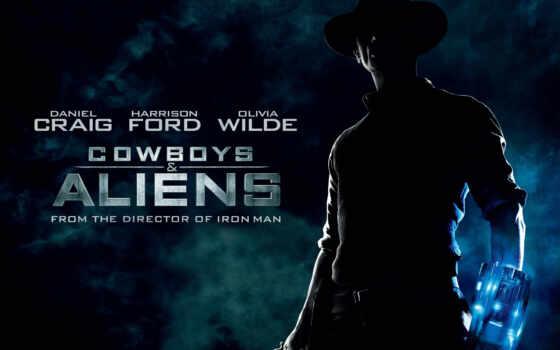cowboys, aliens, movie