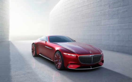 maybach, mercedes, vision, concept, coupe,