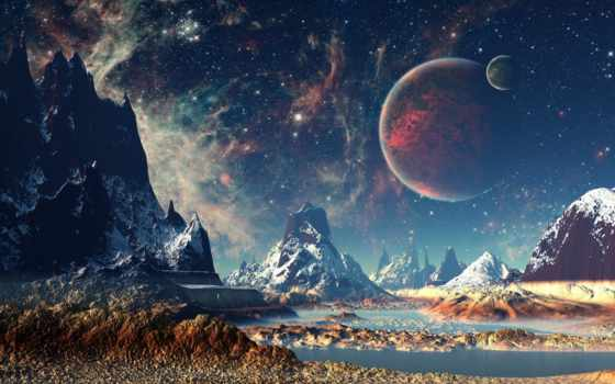cosmos, фотообои, landscape, print, заказать, фантастика, online, fantastic, стену, фантастические, puzzle,