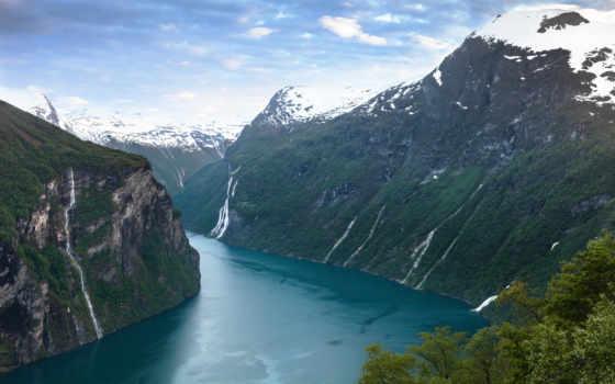 geiranger, норвегия, fjord, природа, desktop, high, free, landscapes, качество,