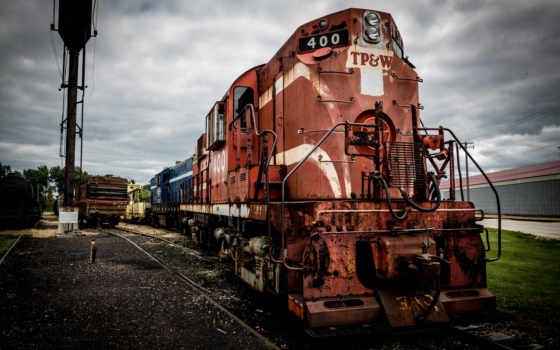 поезд, free, паровозов, чудесные, старых, desktop,
