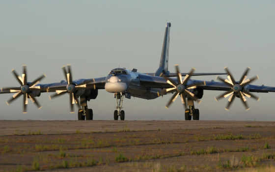 медведь, russian, турбовинтовой, бомбардировщик, два, рф, soviet, самолета,