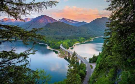 красивые, самые, места, дороги, лучшая, коллекция, загружено, уже, мосты,