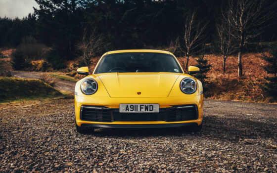 porsche, carrera, yellow, авто, фото, car, кузов