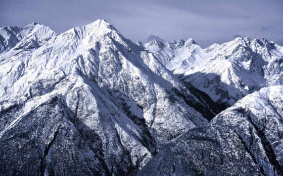 горы, природа, альпы