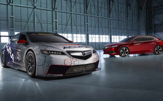 tlx, acura, car, race, янв, detroit, prototype,