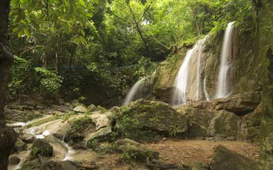 природа, thai, таиланд, пляжи, reki, водопады, таиланда, тайланде, картинка, chang,