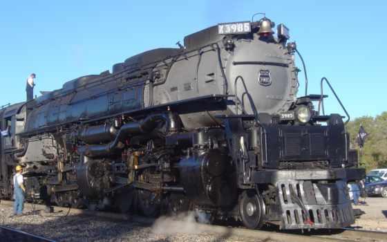 биг, boy, союз, pacific, самый, steam, мире, локомотив,