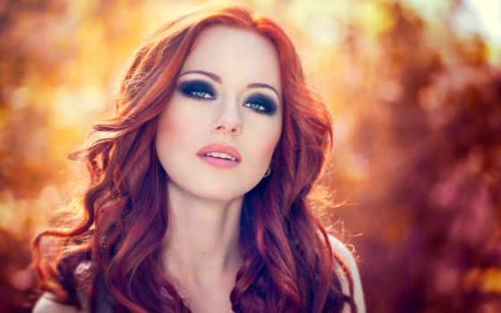 волос, макияж, глаз, color, рыжих, выбрать, кожи, зеленые, голубых,
