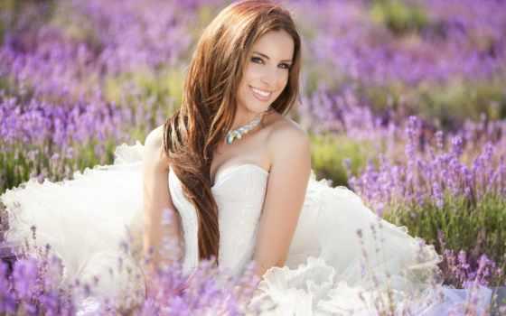 поле, лавандовом, фотосессия, невеста, лавандовое, клипарт, свадебный, lavender, posing, свадьбы,