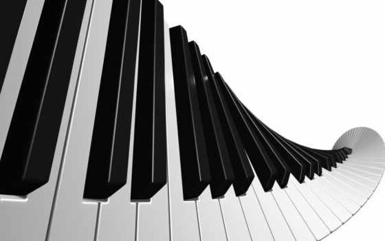 музыка, клавиши