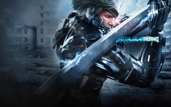 gear, металл, rising, revengeance, raiden, solid,