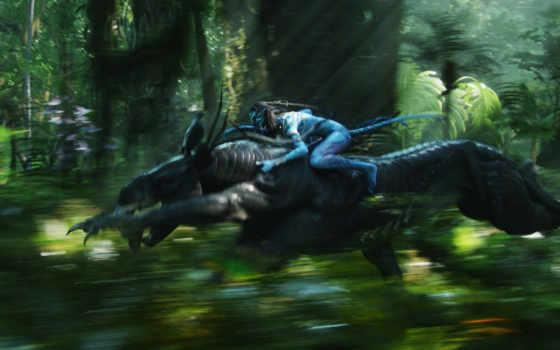 аватар, воин, лес, пандоры, скорость,