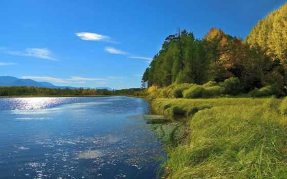 reki, озеро, берег, река, озера, house, летом, сонник, красивые, природа,