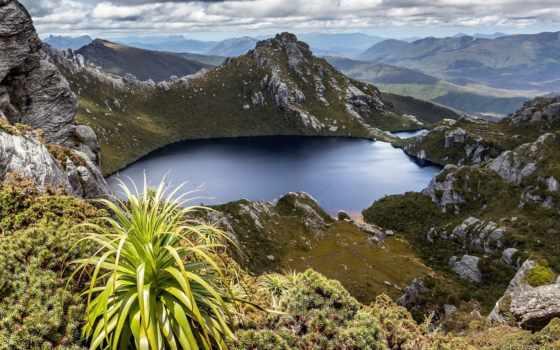 tasmania, oberon, west, озеро, south, arthurs, western, park, desktop, tasmânia,