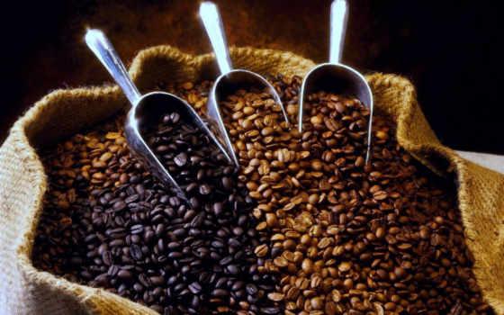 кофе, зерна Фон № 16432 разрешение 1920x1200