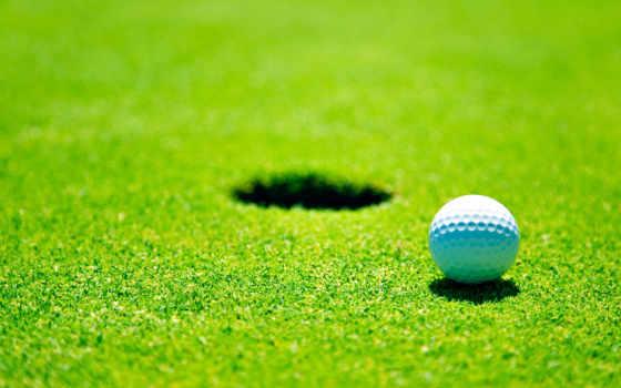 golf, мяч, спорт