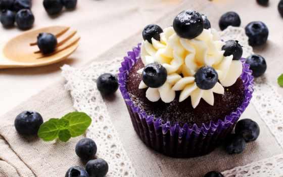 черника, muffin, iphone