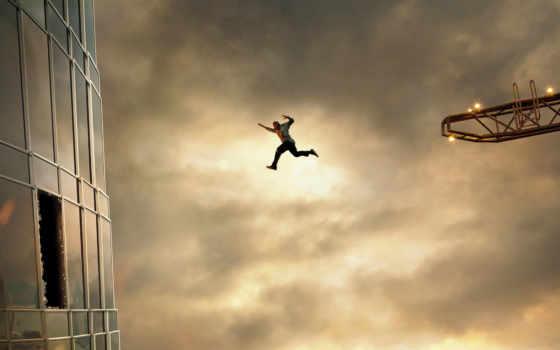 arranha, céu, coragem, sem, limite, джонсон, dwayne, trailer,