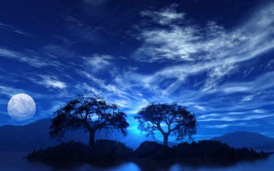 blue, но, полнолуние