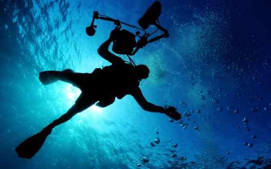 diving, ocean, спорт