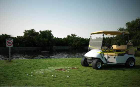 golf, повозка, scene, проект, млрд, personal, new, wip, модель, except