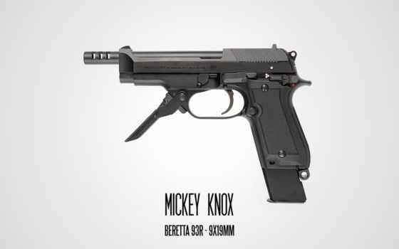 пистолет, beretta, вооружения