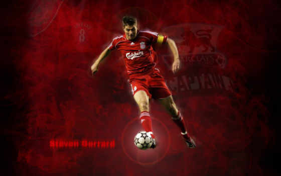 gerrard, steven, iphone, fonds, футбол,