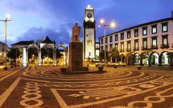 площадь, ponta, португалия