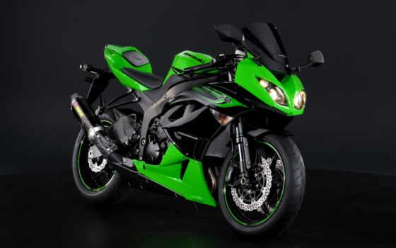 kawasaki, мотоцикл, мотоциклы, ninja, sx, мото, зелёный,